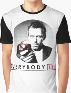 Dr House - Everybody Lies Graphic T-Shirt