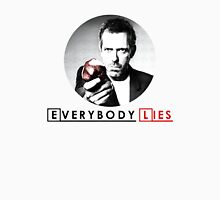 Dr House - Everybody Lies Womens Fitted T-Shirt