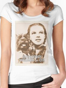 Wizard of Oz Dorothy Women's Fitted Scoop T-Shirt