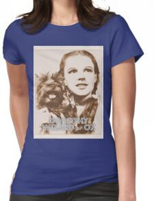 Wizard of Oz Dorothy Womens Fitted T-Shirt