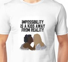 Nomi x Amanita: A kiss away from reality ; One Unisex T-Shirt