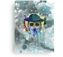 WOLF WATERCOLOR Canvas Print