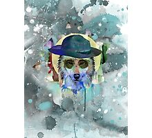 WOLF WATERCOLOR Photographic Print