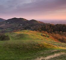 The Malverns Ridge, England by Cliff Williams