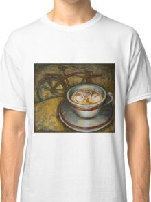 Still life with red cruiser bike Classic T-Shirt