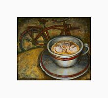 Still life with red cruiser bike Unisex T-Shirt
