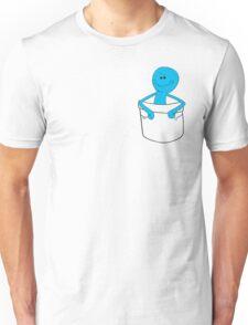 Mr Meeseeks Pocket Tee - Rick and Morty Unisex T-Shirt