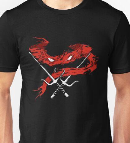turtle mutant ninja turtles raphael mask Unisex T-Shirt