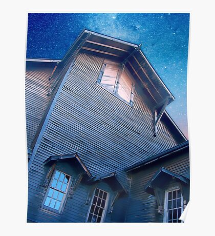 Under A Star Filled Sky Poster