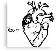 You ---> Canvas Print