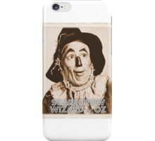 Wizard of Oz Scarecrow iPhone Case/Skin