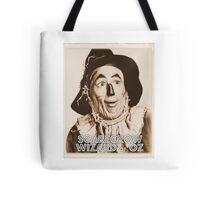 Wizard of Oz Scarecrow Tote Bag