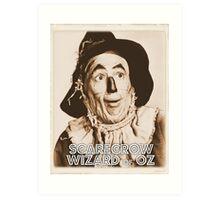 Wizard of Oz Scarecrow Art Print