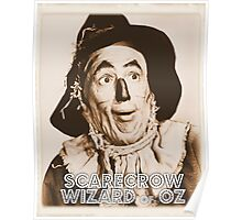 Wizard of Oz Scarecrow Poster