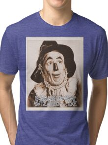 Wizard of Oz Scarecrow Tri-blend T-Shirt