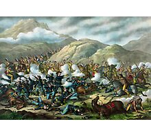 Little Bighorn - Custer's Last Stand Photographic Print