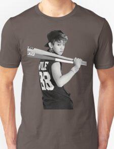 Baekhyun Black And White Baseball Bat T-Shirt