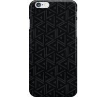 Abstract triangle pattern, modern  pointillism design iPhone Case/Skin