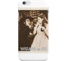 Wizard of Oz Wicked Witch iPhone Case/Skin