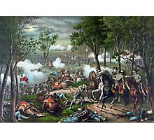 Battle of Chancellorsville - Death Of Stonewall  Photographic Print