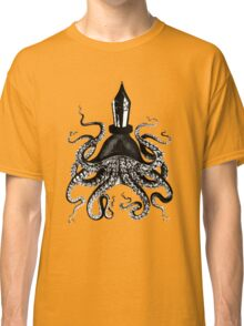 Octopus ink pen Classic T-Shirt