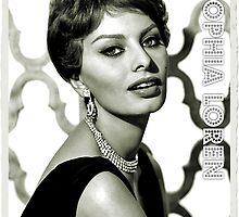 Sophia Loren by esotericaart