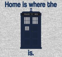 Doctor Who - Home is where the Tardis is Baby Tee