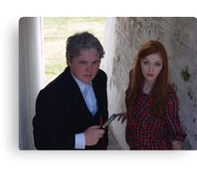 2015 - Doctor Who and Amy Pond cosplayers Canvas Print