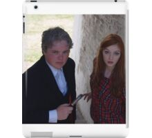 2015 - Doctor Who and Amy Pond cosplayers iPad Case/Skin