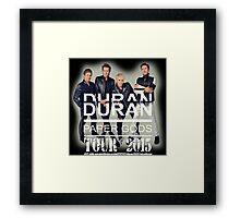 Vintage Duran Duran - kampret2 Framed Print