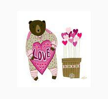 Bear with loveheart T-Shirt