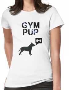 Gym Pup Womens Fitted T-Shirt