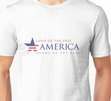 America Land of the Free Unisex T-Shirt