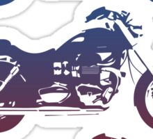 triumph motorcycle vintage retro design Sticker