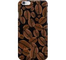 Coffee Beans Pattern iPhone Case/Skin