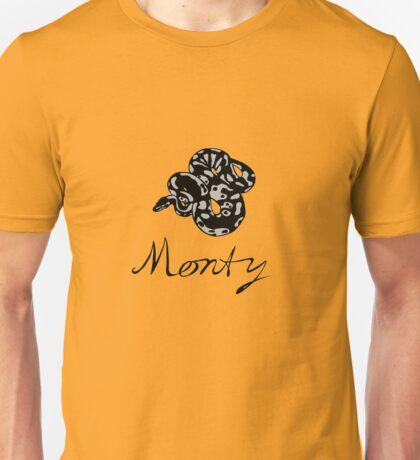 Monty Python (gray snake) Unisex T-Shirt