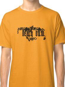 Beach Bum Black Text  Classic T-Shirt
