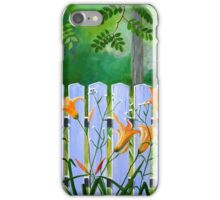 Lillies in the Afternoon iPhone Case/Skin