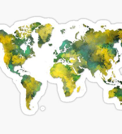 World map 2038 Sticker
