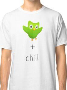 duolingo and chill Classic T-Shirt