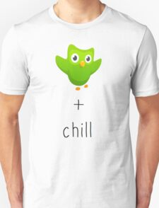 duolingo and chill Unisex T-Shirt