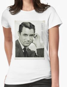 Cary Grant Womens Fitted T-Shirt