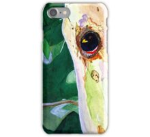 Home in the Sycamore (better viewed lrg) iPhone Case/Skin