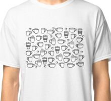 coffee coffee coffee (burgundy) Classic T-Shirt