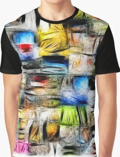 Scuare Abstract Graphic T-Shirt