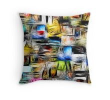 Scuare Abstract Throw Pillow