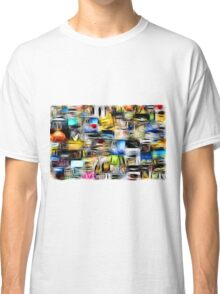 Scuare Abstract Classic T-Shirt