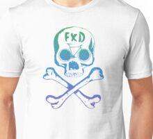 Fixed gear, bike, bicycle, skull emblem Unisex T-Shirt