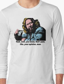 The Big Lebowski and Philosophy 1 Long Sleeve T-Shirt