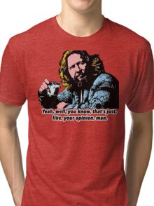The Big Lebowski and Philosophy 1 Tri-blend T-Shirt